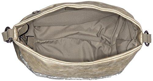 s.Oliver (Bags) - 39.802.94.4439, Borse a spalla Donna Argento (Matt Silver)
