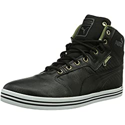 Puma - Tatau Mid L Gtx, Zapatillas altas Hombre, Negro (Black-burnt Olive-dark Shadow-bronze-white), 45 EU