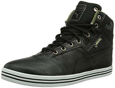 Puma Tatau Mid L GTX, Herren Hohe Sneakers, Schwarz (black-burnt olive-dark shadow-bronze-white 04), 39 EU (6 Herren UK)