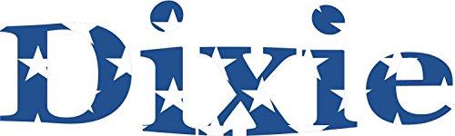 10inx3in-die-cut-dixie-decal-flag-stars-bumper-sticker-car-stickers-decals