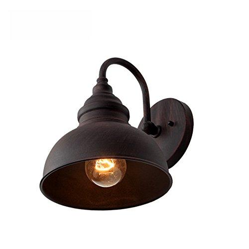 Ganeep Retro Viento Industrial luz de Pared al Aire Libre Europeo iluminación Exterior Impermeable...