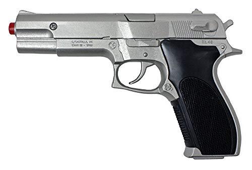 Gonher 45/3 - Police Pistole zum Kostüm FBI Polizist