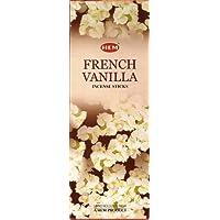French Vanilla, 120 bastoncini di incenso, con orlo