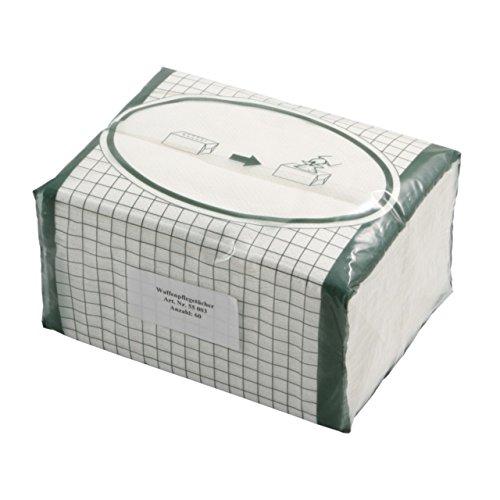 Zellstofftücher Poliertücher Reinigungstücher Pflegetücher Waffenpflegetücher saugstark, fusselfrei und wiederverwendbar 29 x 38 cm - 60 Stück