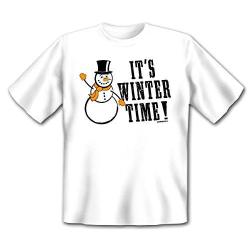 Weihnachten + Winter Goodman Design Gr: Farbe: weiss : IT´S WINTER TIME ! Weiß