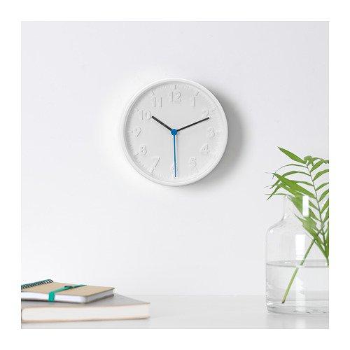 Unbekannt 'Ikea–Reloj de pared cuarzo destomma drchmesser 20cm en color blan