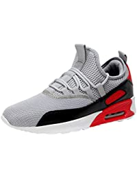 Qinsling Scarpe Running Estive Uomo Scarpe Uomo Sneakers Scarpe da  Ginnastica Uomo Scarpe da Corsa Uomo Sportive Scarpe da Marea be03cd2e578