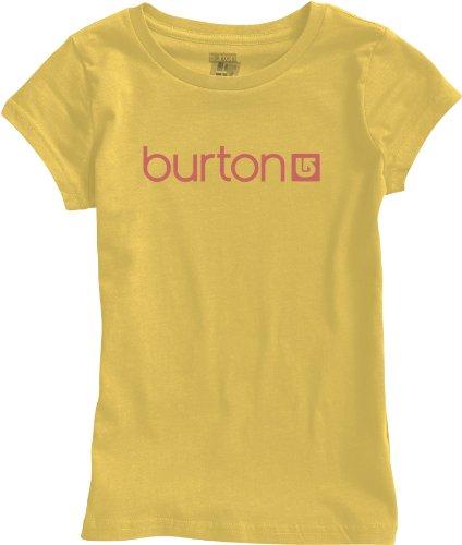Burton Mädchen T-Shirt Mini Her Logo, sunflower, L12, 267265 (Burton Mini Mädchen)