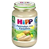 Hipp Pastinaken mit Kartoffeln, 190g Monat 4