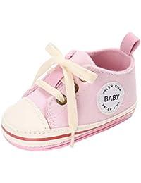 YWLINK Zapatos Zapatillas De Lona Antirresbaladizas del Bebé De La Cuna del ReciéN Nacido De Los Muchachos De La Muchacha del NiñO…