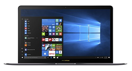 ASUS ZenBook 3 Deluxe UX490 (90NB0EI3-M02910) 35,6 cm (14 Zoll, FHD) Ultrabook (Intel Core i7-7500U, 16GB RAM, 512GB SSD, Intel HD Graphics, Win 10) Grau