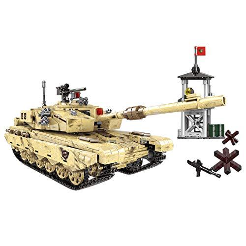 MAJOZ 1340 Piezas Tanque y Minifiguras