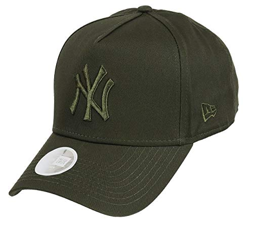 huge selection of efdbe 99886 A NEW ERA Era York Yankees Adjustable A Frame Women Cap League Essential  Olive - One