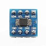 Aiming Mini ADS1115 Módulo de 4 Canales 16 bits I2C ADC convertidor analógico a Digital analógico a Digital módulo de conversión