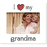 Lawrence Frames 'I Love My Grandma' Picture Frame, 6 By 4-Inch, White By Lawrence Frames