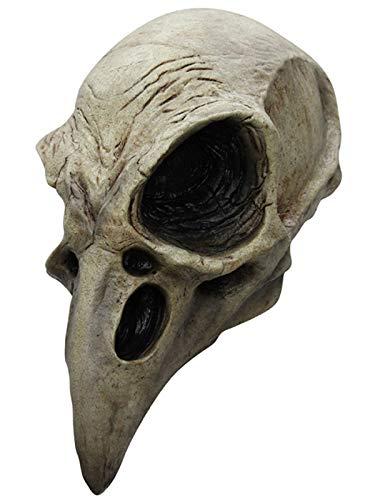 Großer Vogel Kostüm - Krähen Totenschädel