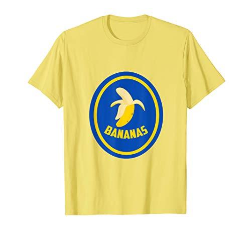 Banane Kostüm Shirt Frucht Bananen Karneval Last Minute  T-Shirt