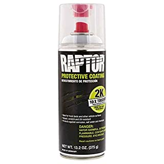 UPol Raptor BLACK Protective Truck Bed Liner 2K Aerosol U POL 400ml Coating