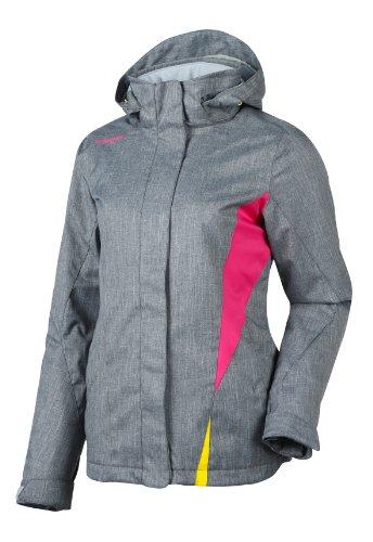 Ziener Damen Jacke Tilac Women's (Jacket Ski) Damenjacke, Grey Melange, 46