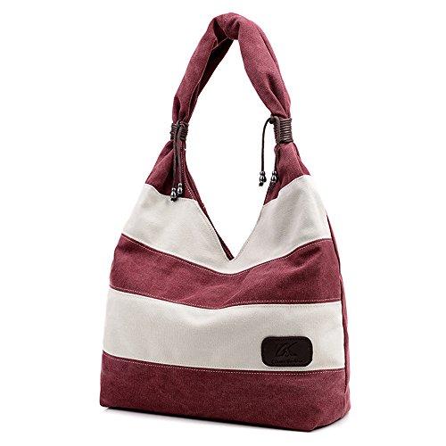 FancyBag - Tela Donna Borsa Borsa a spalla Borse Tote Borsa a tracolla Designer Bag Viola