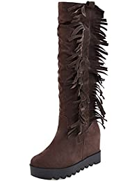 748bc5db botas de flecos - 39 / Sandalias de vestir / Zapatos para ... - Amazon.es