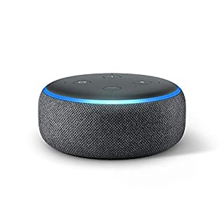 Echo Dot (3. Gen.) Intelligenter Lautsprecher mit Alexa, Anthrazit Stoff (B0792HCFTG) | Amazon Products