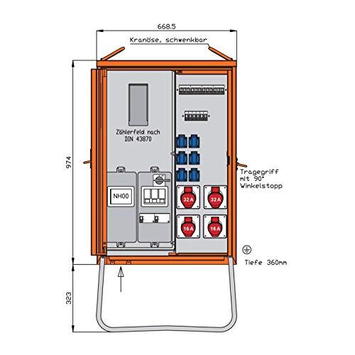Walther Werke Anschlussverteilerschrank WAV0135R1