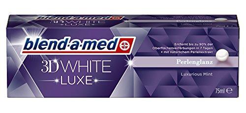 Blend-a-med 3D White Luxe Perlenglanz, 2er Pack (2 x 75 ml)