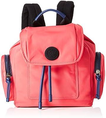 Tous Doromy, Bolso mochila para Mujer, Multicolor (Fucsia/Marino 995810355), 29x32x14 cm (W x H x L)