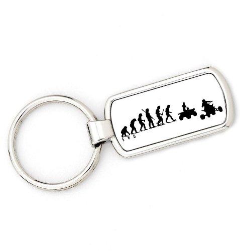 Schlüsselanhänger, Die Evolution des Mannes: vom Affen bis zum Quad-Fahrer, Geschenkidee