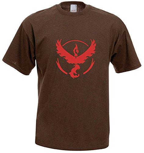 Unknown Herren T-Shirt Braun