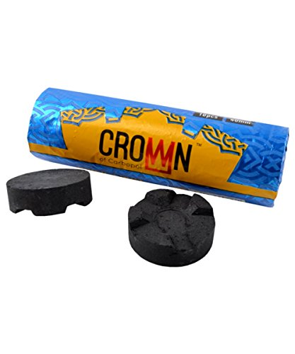 Carbopol Crown Kohle 40mm Airflow Rolle