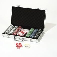 Hot Games 49054 Pokerkoffer de Luxe Poker Chip Set