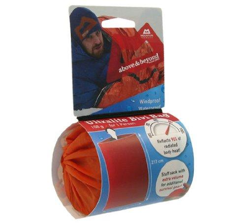 Mountain Equipment -Ultralite Bivi Bag- Biwaksack mit Schlafsackfunktion, 213 x 91 cm