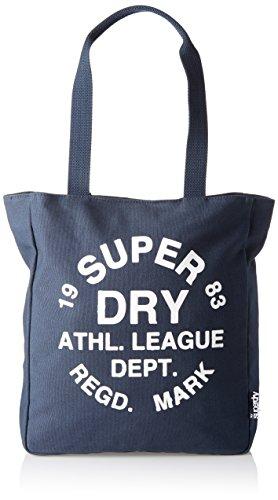 Superdry - Ath League, Bolsos mochila Mujer, Rosa (Bubblegum), 32.0x37.0x9.0 cm (W x H L)