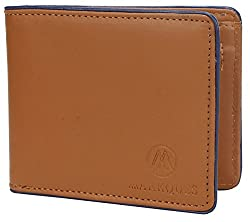 MarkQues Ace Stylish Tan Leather Mens Wallet (ACE-4404)
