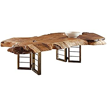 Glastisch mit holzstamm best latest large size of - Dekoration glastisch ...
