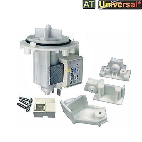 Pompe de trop-plein Pompe 30W Hanning Solo Pompe de vidange machine à laver UNIVERSEL