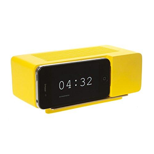 Alarm Dock (Areaware Alarm Dock Docking Station iPhone 4 / 4S gelb)