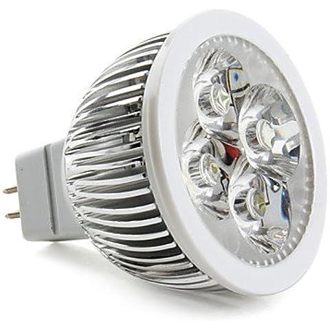 XMQC*4x1W 5000K 360 4 LED a luce bianca Lampadina (120 Volt 4 Catena Luce)