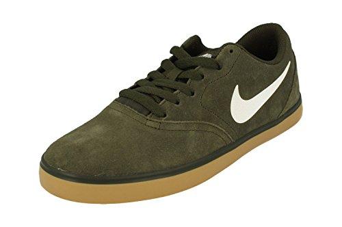 Nike Sb Check, Scarpe Da Skateboard Uomo Sequoia White Gum Marrón Claro 312