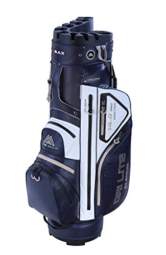 Big Max Dri Lite Silencio Cartbag - Wasserabweisende Golftasche blau