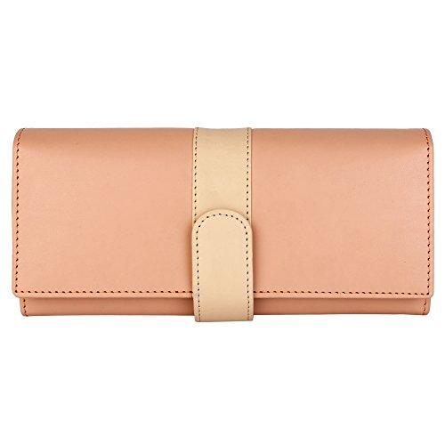 Lychee Bags Women's Beige PU Aura Wallet (LBW003B)