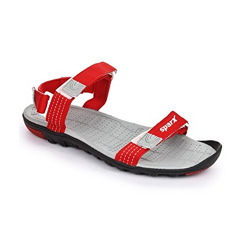 SPARX MEN RED SPORTS SANDAL 414 (9)  available at amazon for Rs.806