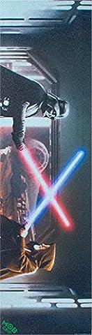 Mob Star Wars Scene Vader Vs Obiwan 1sheet 9x33 by Mob Grip