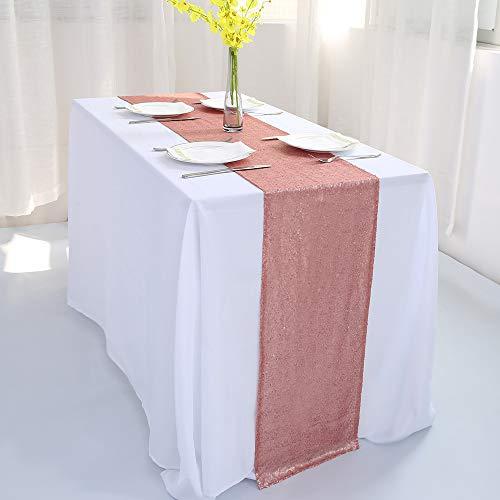 Zdada Tischläufer, Weihnachtsabend, Thanksgiving Day Dekoration 12