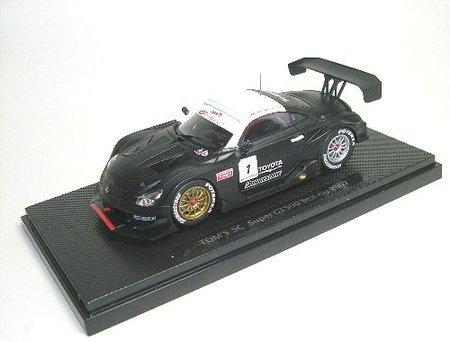 SUPER GT 500 TOM `S SC TEST CAR No1 BLACK (Japan-Import) -
