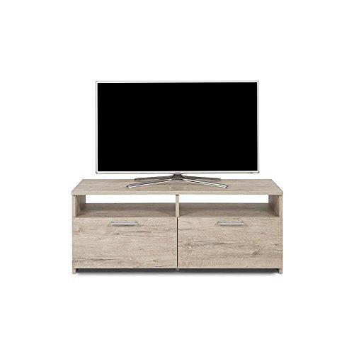 Mobilifiver rachele mobile porta tv, legno, quercia, 112x42x45 cm