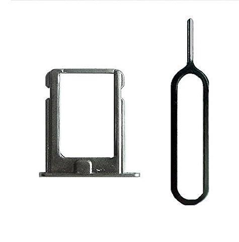 Sim Halter für iPhone 4 und 4S in silber mit Nadel - Dealbude24 (Sim For Iphone)