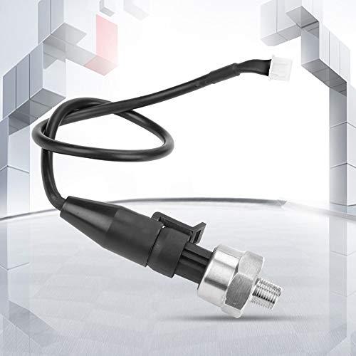 Druckwandler, 1pc 1 / 8NPT Edelstahl Drucksensor für Öl Kraftstoff Wasser(100PSI) -